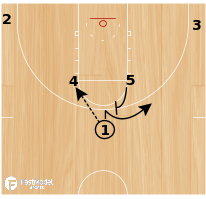 Basketball Play - Xavier Horns Flex Pin