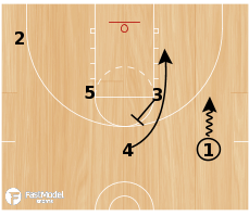 Basketball Play - Hawk Floppy
