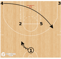 Basketball Play - Miami Heat Horns GG Flare