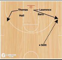 Basketball Play - College of Charleston Set