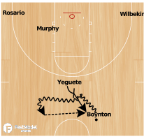 Basketball Play - Florida Gator PNR