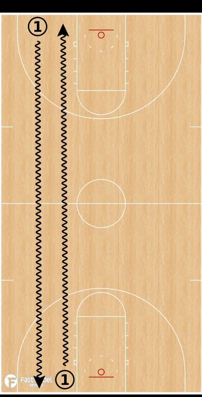 Basketball Play - 012 Dribbling