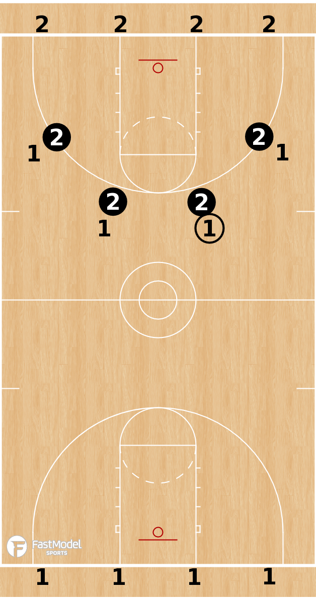 Basketball Play - Illini Fastbreak Game