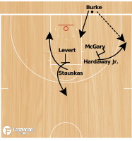 Basketball Play - Wolverines BLOB
