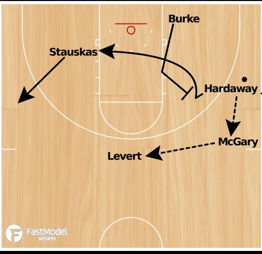 Basketball Play - Wolverines BLOB
