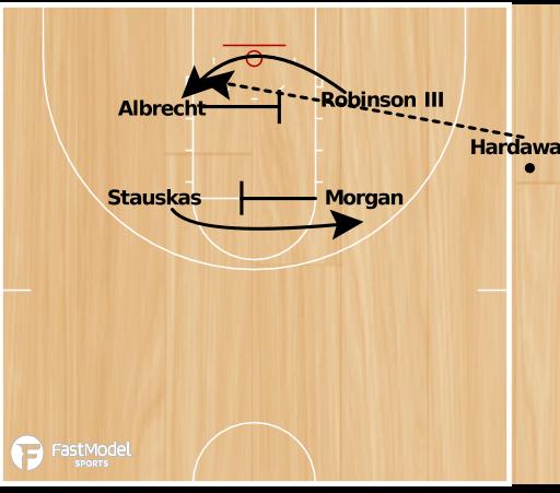 Basketball Play - SLOB Michigan