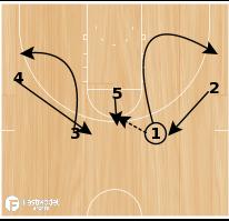 Basketball Play - Calvin-Hi/Lo