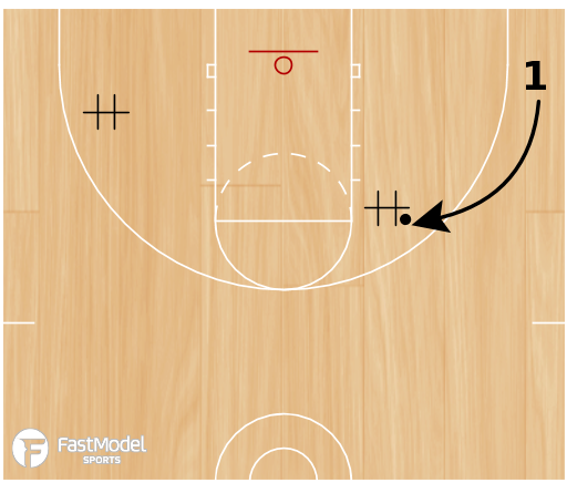 Basketball Play - Chair Shooting