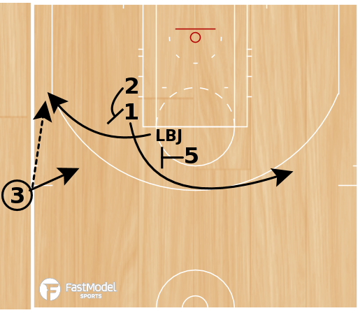 """Basketball Play - Play of the Day 02-21-2011: """"L"""""""