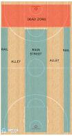 Basketball Play - Five Out - Five Lane Break