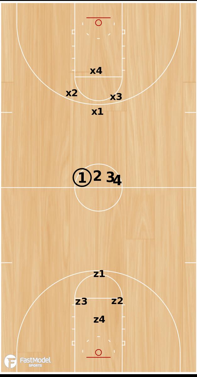 Basketball Play - 444
