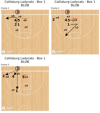 Basketball Play - Callisburg Ladycats - Box 1 BLOB