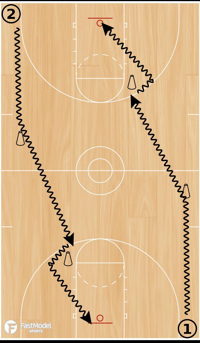 Basketball Play - Pitino Series