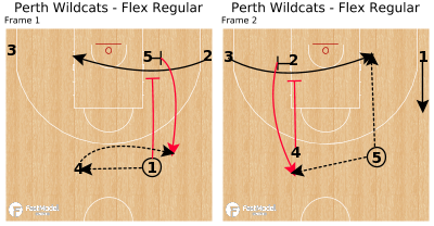 Basketball Play - Perth Wildcats - Flex Regular