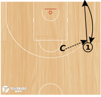 Basketball Play - Line Touch Shooting