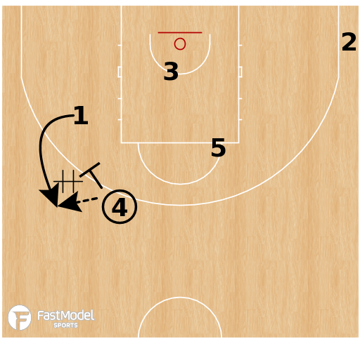 Basketball Play - Flex - Spain Option
