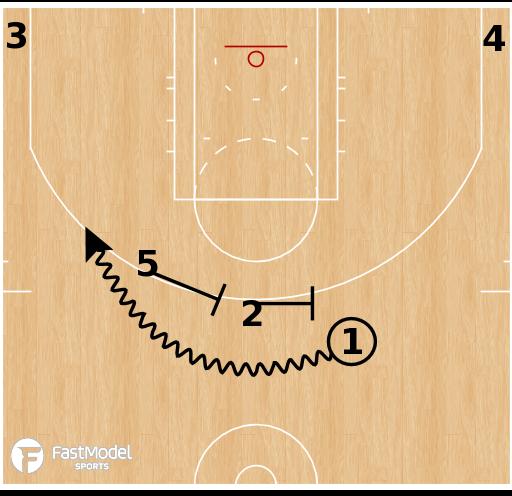 Basketball Play - UCLA 45