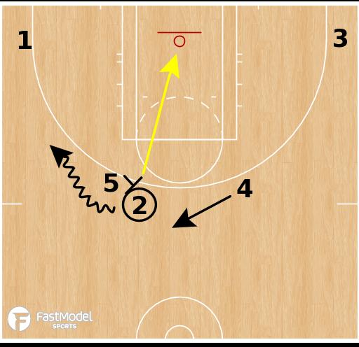 Basketball Play - Indiana Fever - Zipper Horns High Low