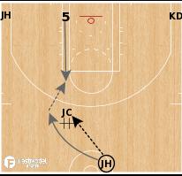 Basketball Play - Brooklyn Nets - Get Pinch Duck