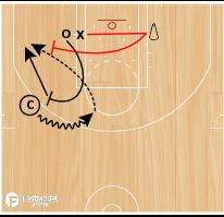 Basketball Play - WOB: P & R 1-on-1
