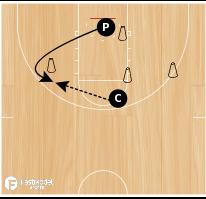 Basketball Play - Cone Drill #03